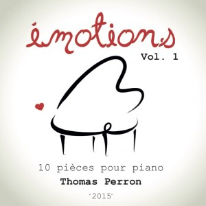 EMOTIONS vol 1 Pochette CD Face avant