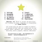 EMOTIONS vol 2 Pochette CD Face arrière