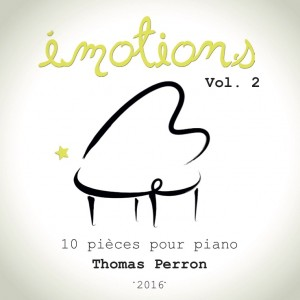 EMOTIONS vol 2 Pochette CD Face avant