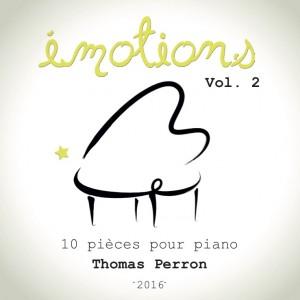 EMOTIONS vol 2 Pochette CD Face avant