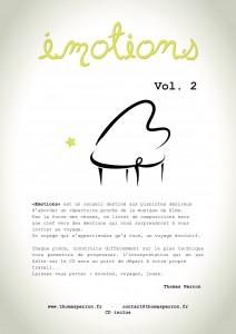 EMOTIONS vol 2 Recueil dos